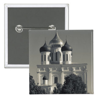 Pskov Kremlin and Trinity Cathedral Buttons