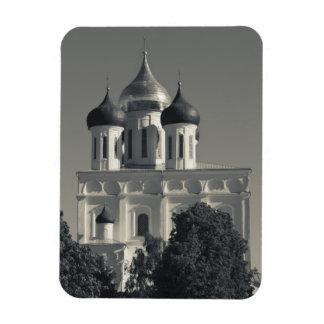 Pskov Kremlin and Trinity Cathedral Vinyl Magnets