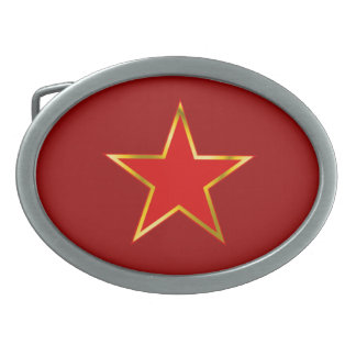 PSO Star Emblem belt buckle