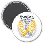 Psoriasis Butterfly 3 Magnet