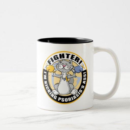 Psoriasis Cat Fighter Mug
