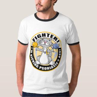 Psoriasis Cat Fighter T-Shirt