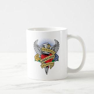 Psoriasis Dagger Coffee Mug