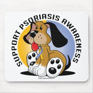 Psoriasis Dog Mouse Pad