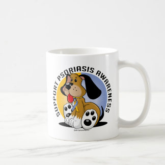 Psoriasis Dog Classic White Coffee Mug