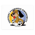 Psoriasis Dog Postcard