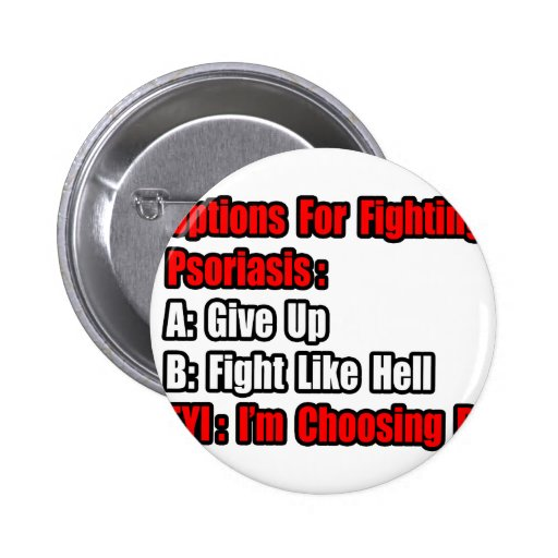 Psoriasis Fighting Options Buttons