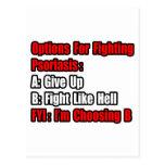 Psoriasis Fighting Options Postcard