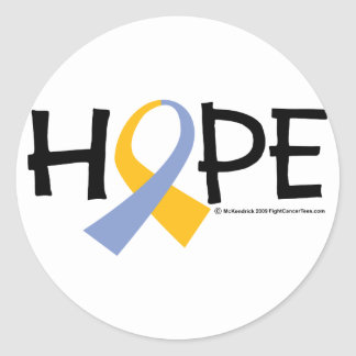 Psoriasis Hope Classic Round Sticker