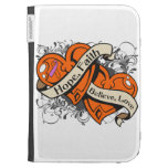Psoriasis Hope Faith Dual Hearts Kindle Keyboard Cases