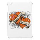 Psoriasis Hope Faith Dual Hearts iPad Mini Covers