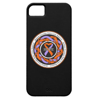 Psoriasis Hope Intertwined Ribbon iPhone 5 Case