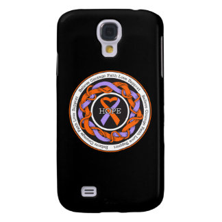 Psoriasis Hope Intertwined Ribbon Galaxy S4 Case