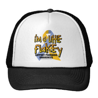 Psoriasis: I'm A Little Flakey Trucker Hat