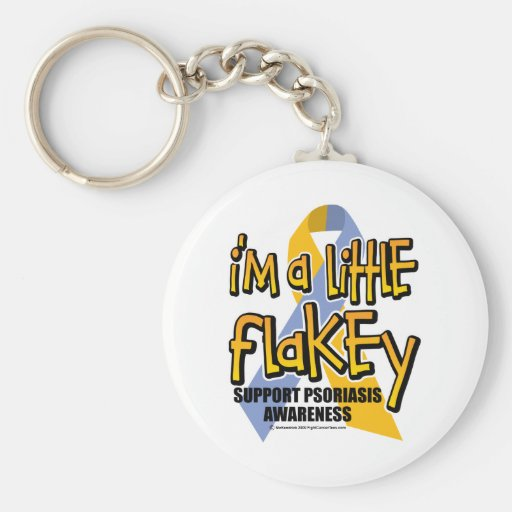 Psoriasis: I'm A Little Flakey Keychain