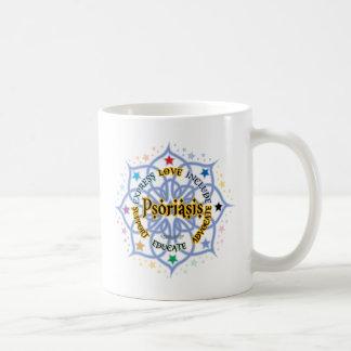 Psoriasis Lotus Coffee Mug