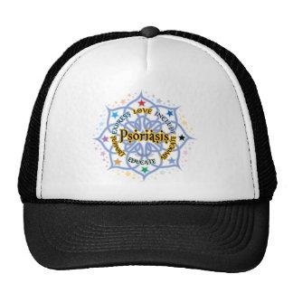 Psoriasis Lotus Trucker Hat