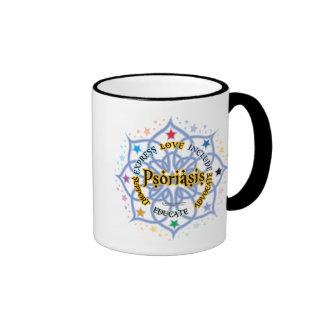 Psoriasis Lotus Ringer Coffee Mug