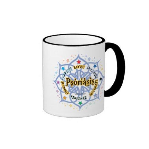 Psoriasis Lotus Ringer Mug
