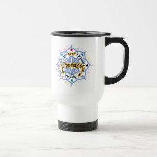 Psoriasis Lotus Travel Mug