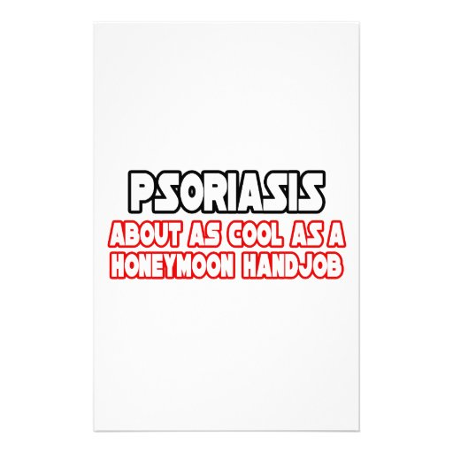 Psoriasis...Not Cool Stationery