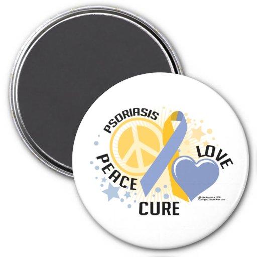 Psoriasis PLC 2 Fridge Magnets