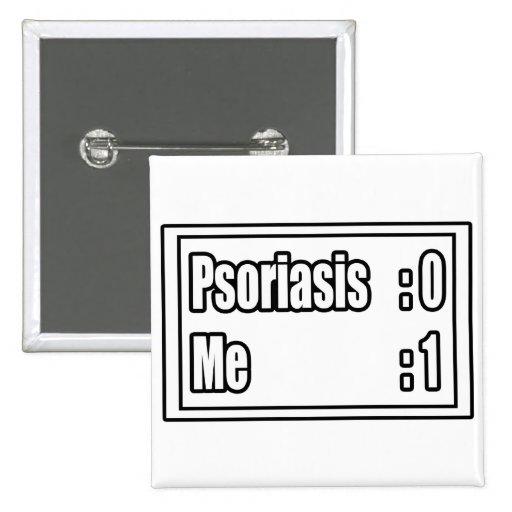 Psoriasis Scoreboard 2 Inch Square Button