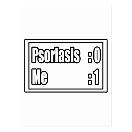 Psoriasis Scoreboard Postcard