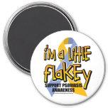 Psoriasis: Soy un poco Flakey Imanes