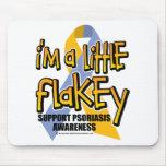 Psoriasis: Soy un poco Flakey Tapetes De Raton