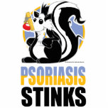 Psoriasis Stinks Acrylic Cut Outs