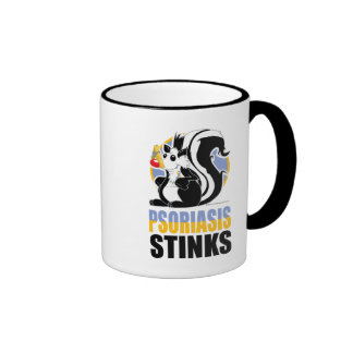 Psoriasis Stinks Ringer Mug