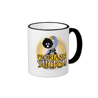 Psoriasis Sucks Ringer Mug