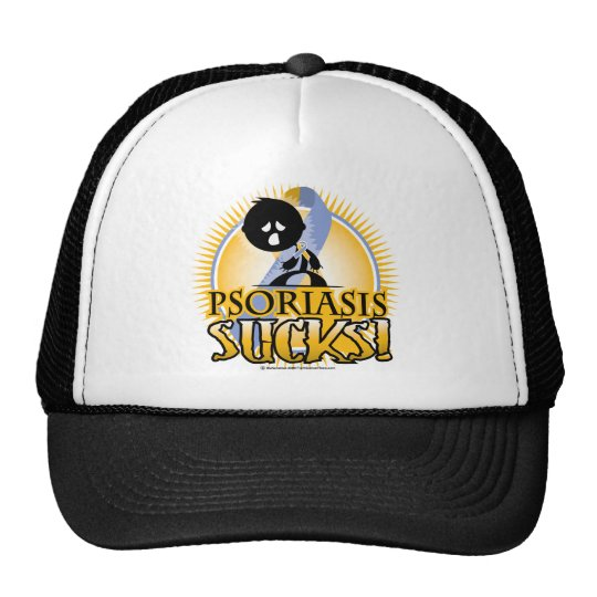 Psoriasis Sucks Trucker Hat
