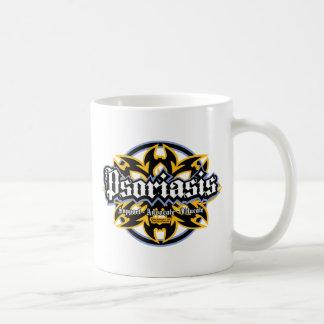Psoriasis Tribal Classic White Coffee Mug