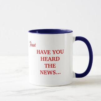 Pssst, HAVE YOU HEARD THE NEWS..., GAR-FIELD CL... Mug
