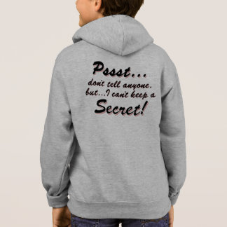 Pssst...I can't keep a SECRET (blk) Hoodie