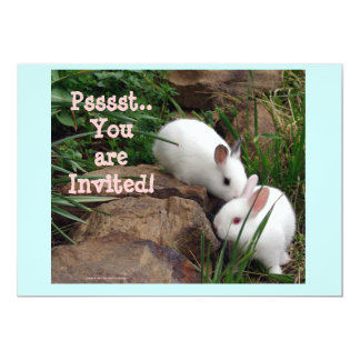 Psst, you are invited! card