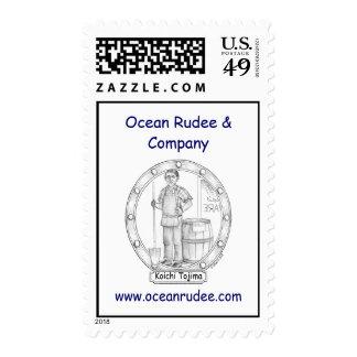 PST - Koichi Tojima Portrait USPS Postage Stamps