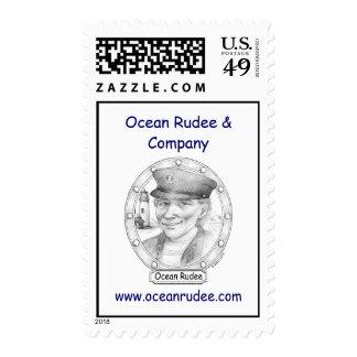 PST - Ocean Rudee USPS Postage Stamp