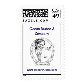 PST - Squashblossom USPS Postage Stamp