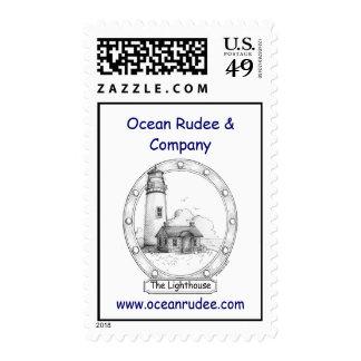 PST - The Lighthouse USPS Postage Stamp