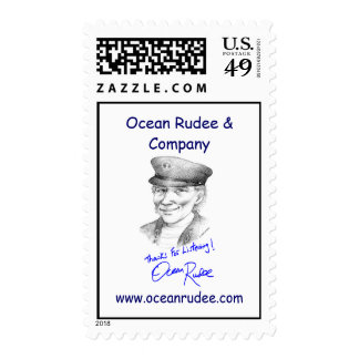 PST - The Ocean Rudee Autograph USPS Stamps