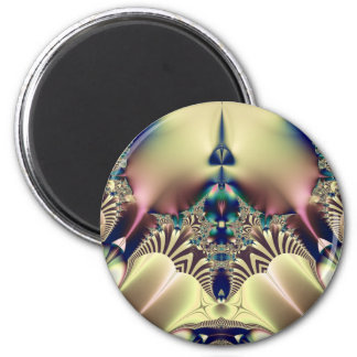Pstrypedelic Fridge Magnet