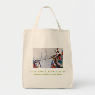 PSU SPHR Organic Cotton Grocery Tote Grocery Tote Bag