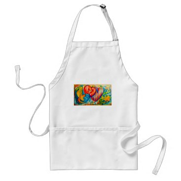 Beach Themed PSX_20161212_love sign Adult Apron