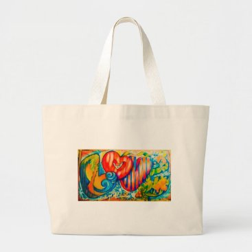 Beach Themed PSX_20161212_love sign Large Tote Bag