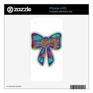Psy bow iPhone 4S decal