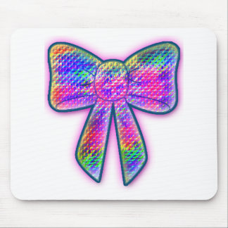 Psy Bow Mouse Pad