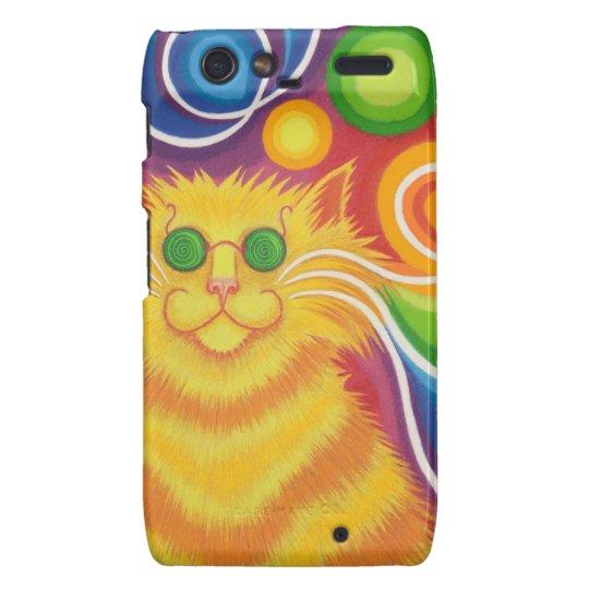 Psy-cat-delic Case-Mate Motorola Droid RAZR case
